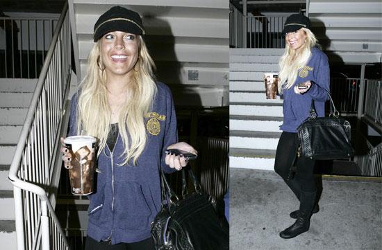 Lohan Is Back in LA and LOVING It