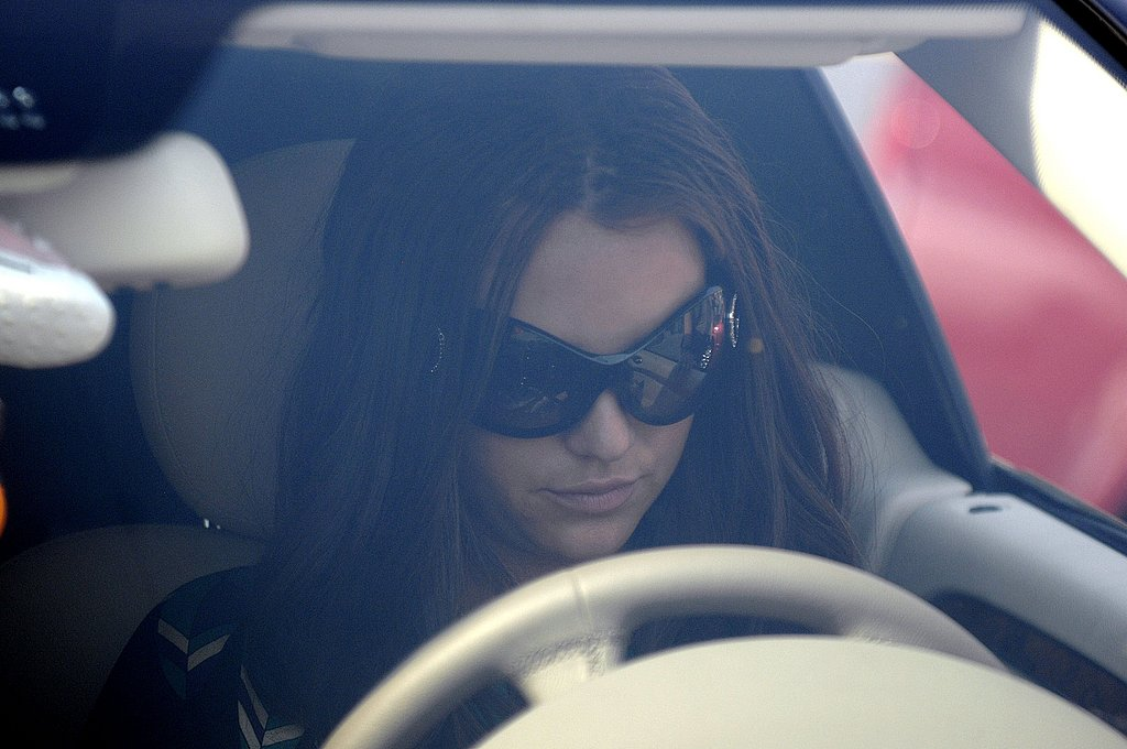 Britney Arrives at Court (Mostly On Time)!