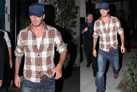 David Beckham Blogs About His Blues