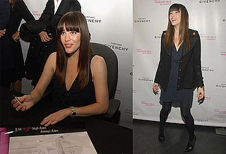 Liv Tyler Shows Off Irresistible Perfume