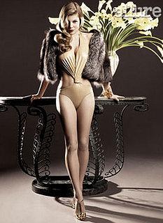 Fergie in December Allure