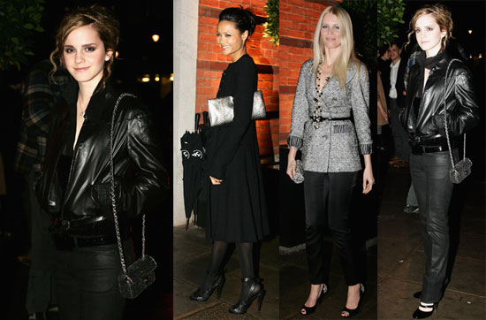 Emma, Claudia and Thandie Get a Peek at New Chanel