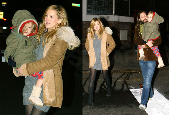 Kate and Chris Bundle Up With Adorable Ryder