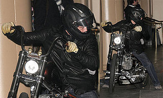 Brad Pitt Is a Rebel With a Hot Set of Wheels