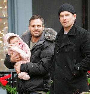 Mark Ruffalo Shows Off His Newborn Daughter