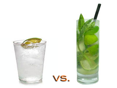 Which Has More Calories: Gin & Tonic or Mojito?