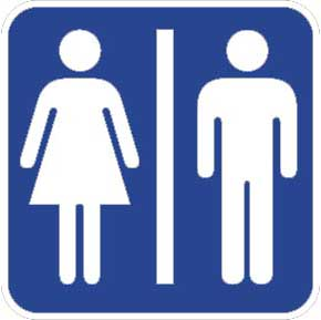 Why the Long Line at Women's Restrooms?