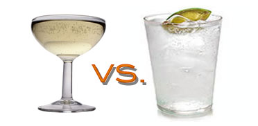 Which Has Fewer Calories: Champagne or Gin & Tonic