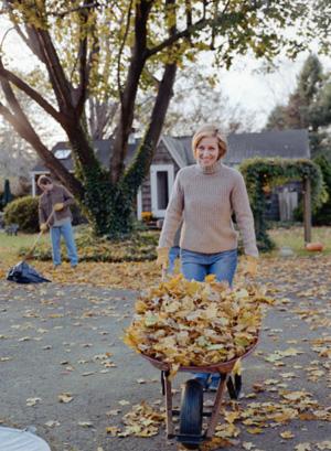 Fall Workout:  Rake Some Leaves