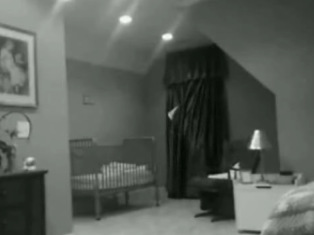 Spooky Ghost Caught On Tape