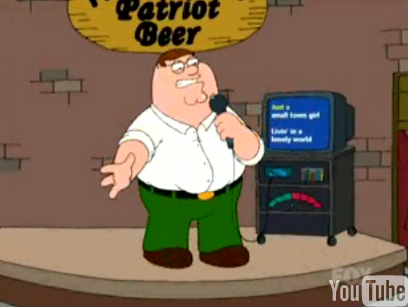 Family Guy Sings Journey