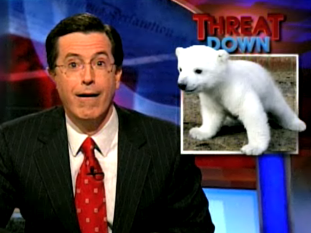 Colbert Thinks We've All Gone Knuts!