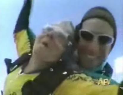 Grandma Goes Skydiving