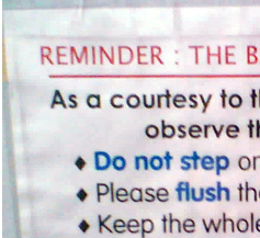 Etiquette Posters Restroom Rules And Cleaning Signs Safety Signs