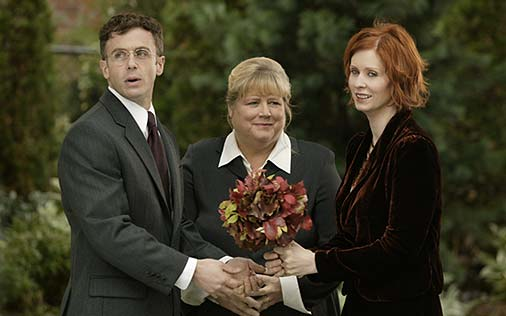 """Great TV Wedding Moments: """"Sex and the City"""""""
