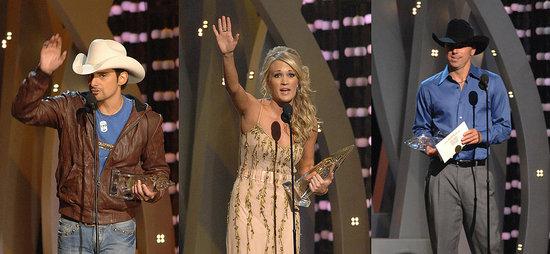 Underwood, Chesney, Paisley Take Top CMA Honors