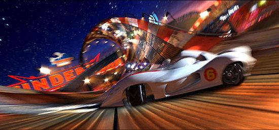 Trippy New Trailer For Speed Racer