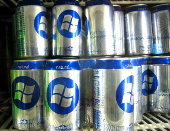 Who Wants A Microsoft Soda?