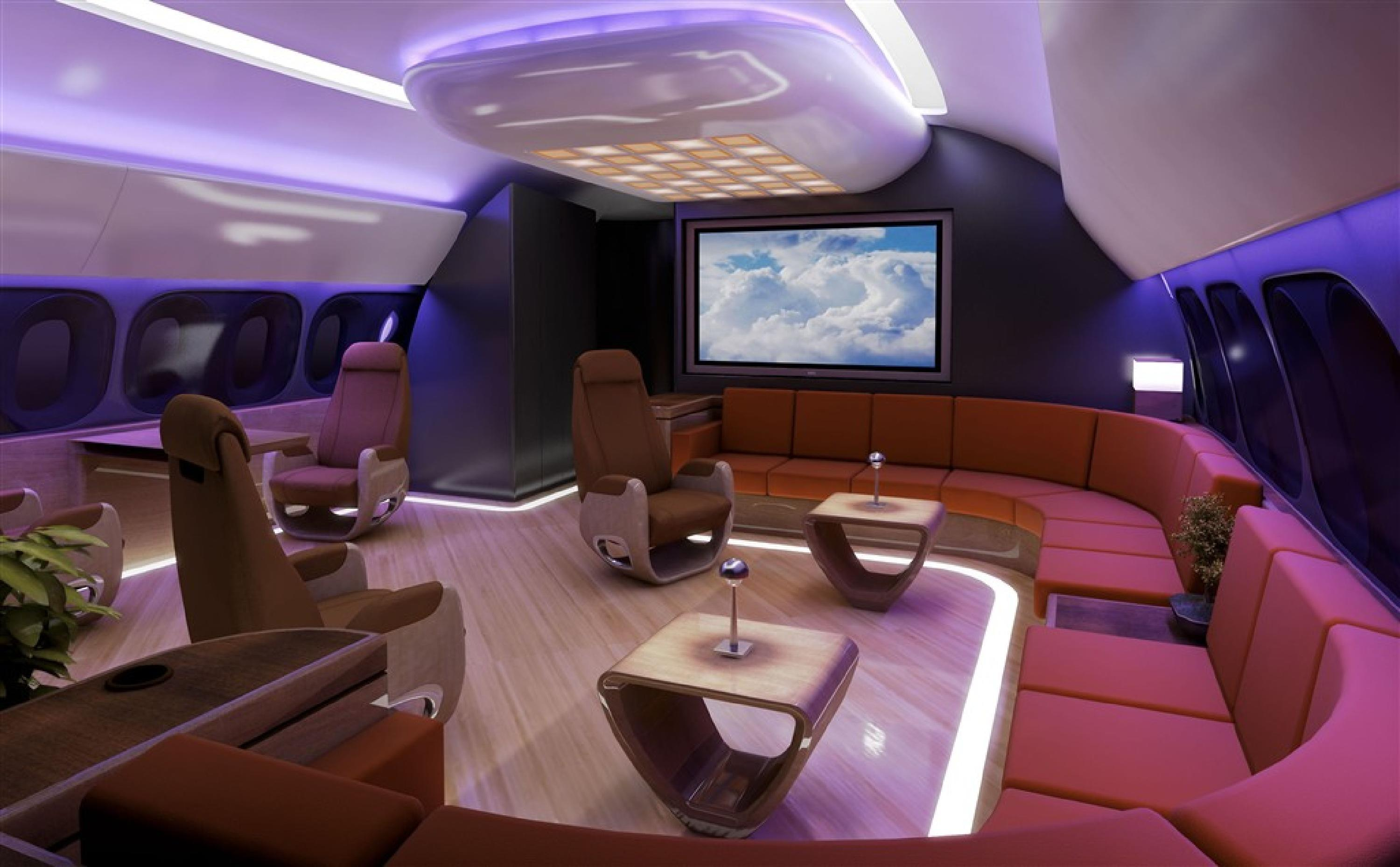 Luxurious Geek: Boeing Business Jets