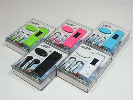 The New Samsung U3 USB MP3 Player