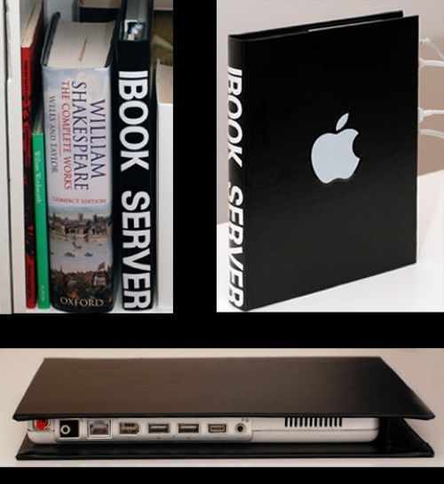 Do It Yourself: iBook Server With Special Bookcover
