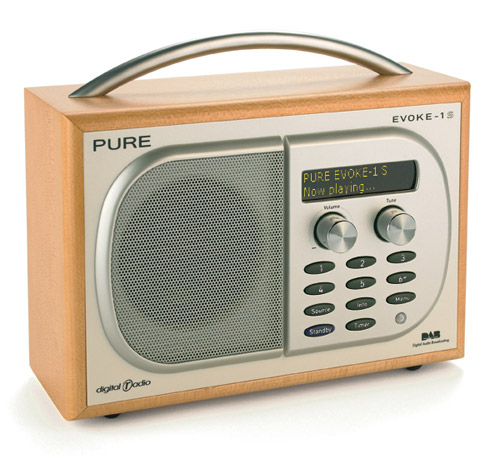 Retroesque Pure Digital Radio