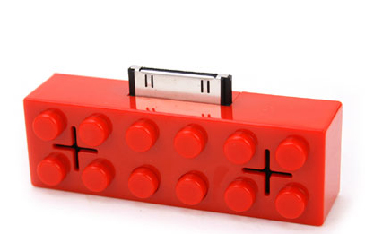 LEGO iPod Dock: Totally Geeky or Geek Chic?
