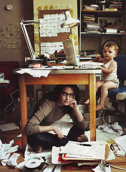 Tina Fey Shows Off Her Organizational Skills
