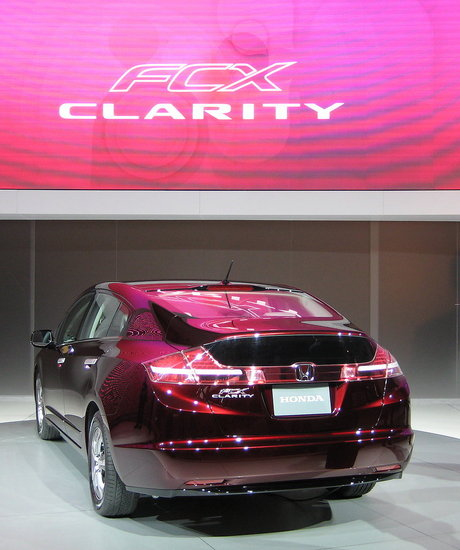 LA Auto Show Highlight: Honda's 2009 FCX Clarity