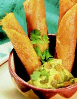 Sunday Dinner: Oven-Crisp Black Bean and Corn Flautas