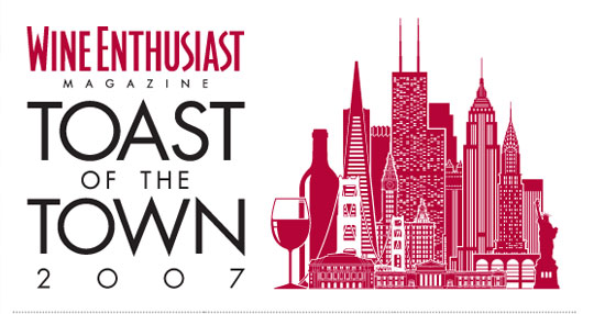 Wine Enthusiast's Toast of the Town