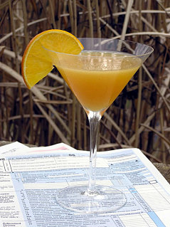 Happy Hour: Income Tax Day Cocktail