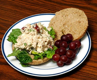 Monday's Leftovers: Chicken Salad Veronique
