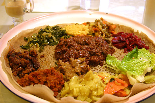 Have You Ever Had Ethiopian Food?