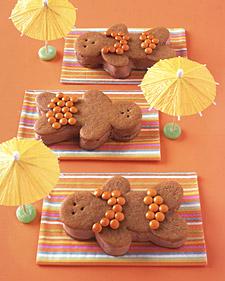 Yummy Link: Chocolate-Ginger Bathing Beauties