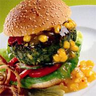 Sunday BBQ: Spicy Beanburgers
