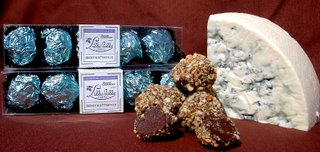 Yummy Link: Blue Cheese and Chocolate Truffles
