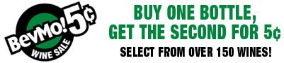 Sale Alert: BevMo's Buy One Get One For 5¢ Sale
