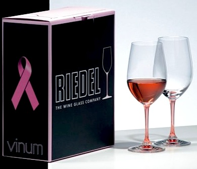 Comment to Win the Riedel Pink Vinum Rosé Wineglasses!