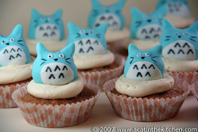 Cupcake of the Week: My Edible Neighbor Totoro