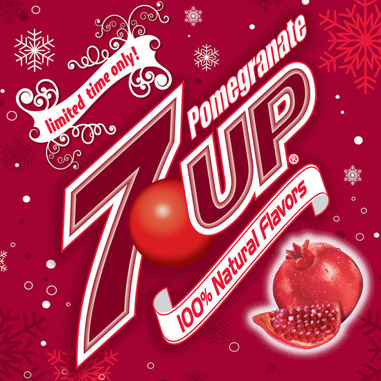 Celebrate the Holidays with Pomegranate 7UP