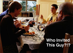 Thanksgiving Tip: Deal with Unexpected Guests — Part 1