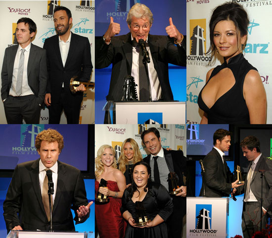 Hollywood Awards Afflecks, Travolta, Hairspray and More
