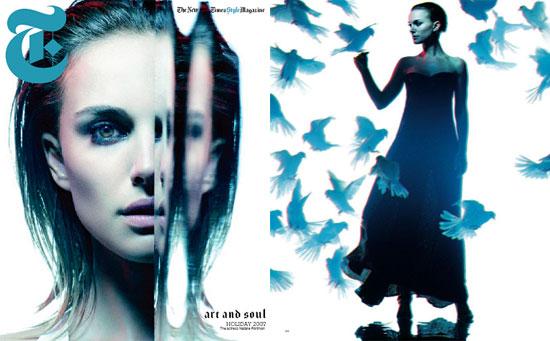 Natalie Portman in the New York Times Style Magazine
