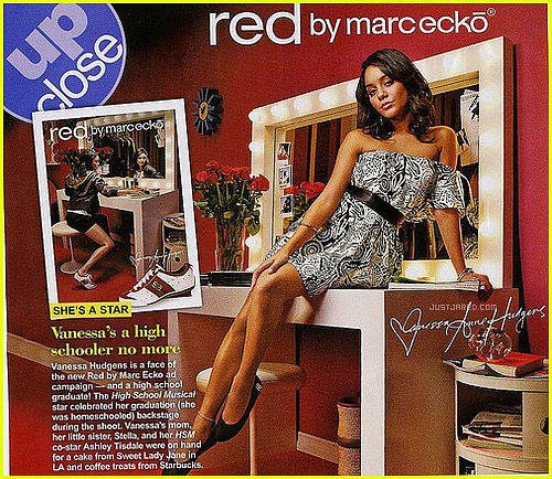 Vanessa Hudgens on RED by Marc Ecko: Love it or Hate it?