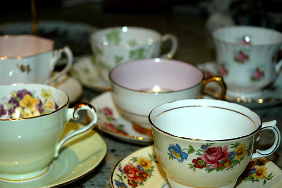 Come Party With Me: Tea Party - Invites