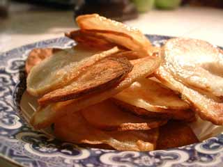 My Guilty Pleasure Side: Homemade Potato Chips