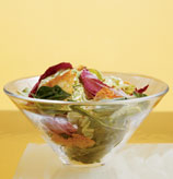 Side Salad With Classic Vinaigrette & Cheese Chips