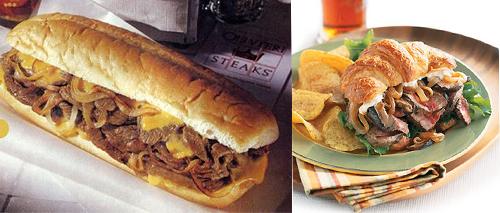 Steak Sandwiches Two Ways - Beginner & Expert
