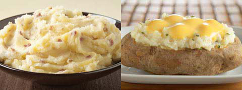 Would You Rather Eat Mashed Potatoes Or Twice Baked Potatoes?